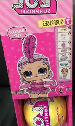 lol surprise dolls series 3 Tots Ball .~ Brand New.~*IN HAN