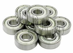 10 Stainless Steel Ball Bearings 7mm x 14mm 7x14x5 mm