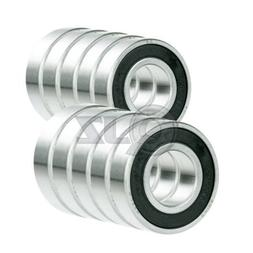 10x 348-2rs Ball Bearing RS Rubber Seal 15mm x 38mm x 19mm S