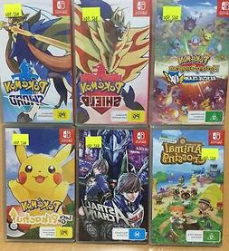 11 18 Brand New Nintendo Switch Games - Plays on ALL Switch