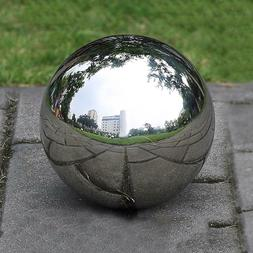 300MM Stainless Steel Mirror Sphere Hollow Ball Home Garden