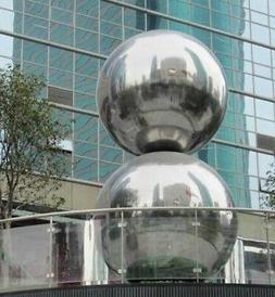 5 inch Mirror Finished Stainless Steel Shiny Ball