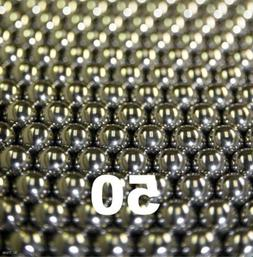 """50 3/8"""" Inch G25 Precision 440 Stainless Steel Bearing Balls"""