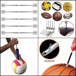 Mobi Lock Ball Pump Needle Stainless Steel for  Football All