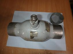 Ball valve VEXVE 230080 DN80 PN25 for welding, without handl