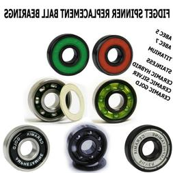Fidget Spinner Toy Replacement Ball Bearing Packs from Amphe