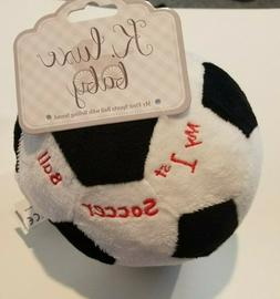Kellytoy K Luxe Baby Brand My First Sports Soccer Ball with