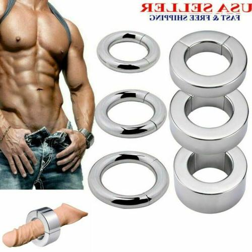 stainless steel ball stretcher strong magneticweight men