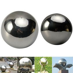 Large Stainless Steel Mirror Sphere Garden Malls Ornament Ho
