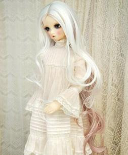 Leeke World Wig . Size 6-7 BJD Doll Wig . Ball Jointed Doll
