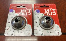 Lot of 2 NEW Tin Cup Golf Ball Markers Trail Blazer Incognit