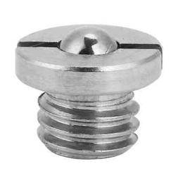 m10 9mm stainless steel threaded flanged ball