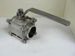 New Other, STAINLESS STEEL BALL VALVE SBV4SW-40 Socket Welde
