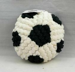 Soccer Ball Plush Baby Sports Rattle Mud Pie Brand New with